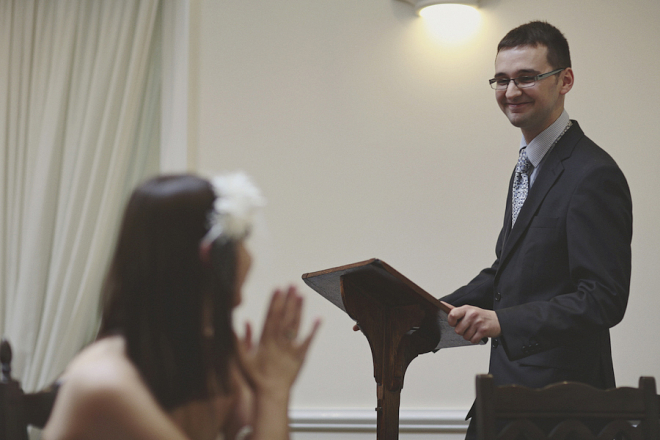 Wedding Reading - Photography by York Place Studios