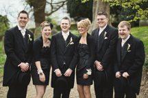 bridesmaids vs groomsmaid