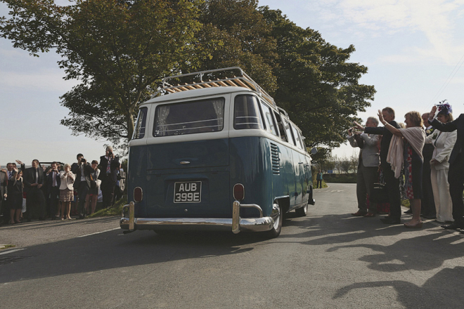 Wedding Transport - VW Campervan